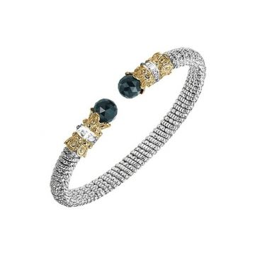 Alwand Vahan 14k Yellow Gold & Sterling Silver Onyx Bracelet