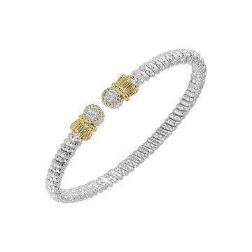 Alwand Vahan 14k Yellow Gold & Sterling Silver Open Bracelet