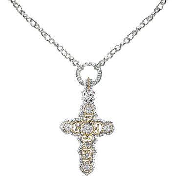 Alwand Vahan 14k Gold & Sterling Silver Diamond Pendant