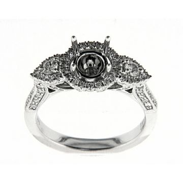 Venetti Designs 14k White Gold 0.69ct Diamond Engagement Ring