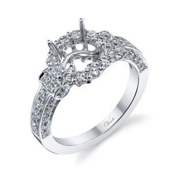 Venetti Designs 14k White Gold 1.28ct Diamond Engagement Ring