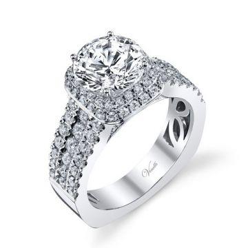 Venetti Designs 14k White Gold 1.47ct Diamond Engagement Ring