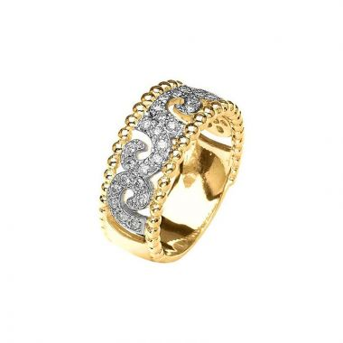 Alwand Vahan 14k Yellow Gold Diamond Ring