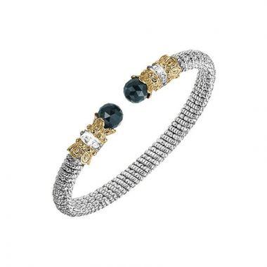 Alwand Vahan 14k Yellow Gold & Sterling Silver Onyx Bracelet