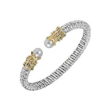Alwand Vahan 14k Yellow Gold & Sterling Silver Pearl Bracelet