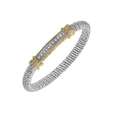 Alwand Vahan 14k Yellow Gold & Sterling Silver Sterling Bar Bracelet