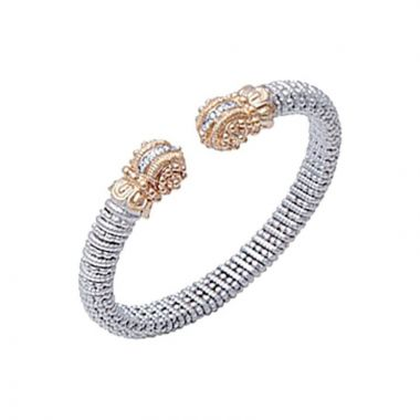 Alwand Vahan 14k Yellow Gold & Sterling Silver Diamonds Bracelet