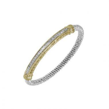 Alwand Vahan 14k Yellow Gold & Sterling Silver Bar Bracelet
