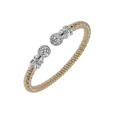 Alwand Vahan 14k White Gold Diamond Bracelet