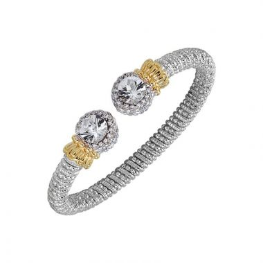 Alwand Vahan 14k Yellow Gold & Sterling Silver Diamond