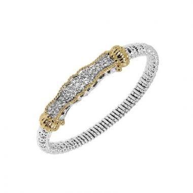 Alwand Vahan 14k Yellow Gold & Sterling Silver Diamond