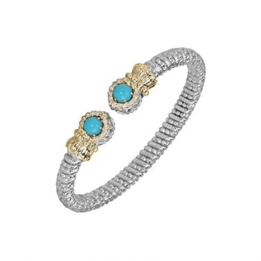 Alwand Vahan 14k Yellow Gold & Sterling Silver Turquiose Bracelet