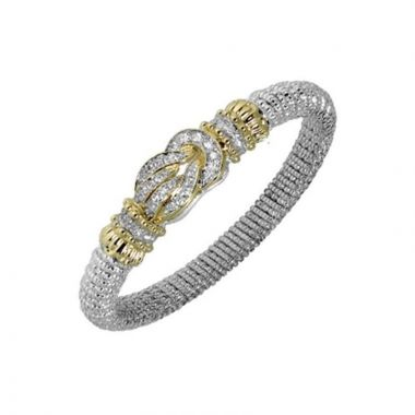 Alwand Vahan 14k Yellow Gold & Sterling Silver Diamond Knot Bracelet