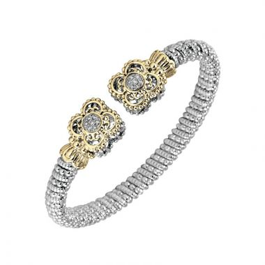 Alwand Vahan 14k Yellow Gold & Sterling Silver Clover Bracelet