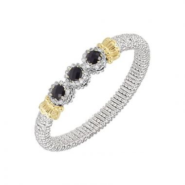 Alwand Vahan 14k Yellow Gold & Sterling Silver Onyx Roundels Bracelet