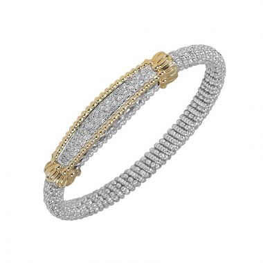 Alwand Vahan 14k Yellow Gold Pave Diamond Bracelet