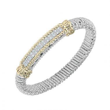 Alwand Vahan 14k Yellow Gold & Sterling Silver Diamond Bracelet