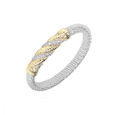 Alwand Vahan 14k Yellow Gold & Sterling Silver Twisted Bracelet