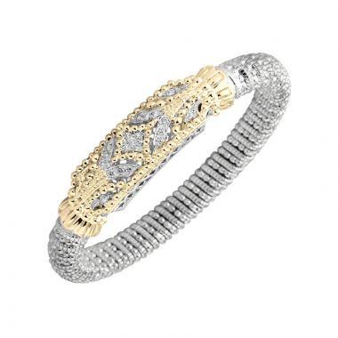 Alwand Vahan 14k Yellow Gold & Sterling Silver Closed Bracelet