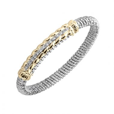 Alwand Vahan 14k Yellow Gold & Sterling Diamond Bracelet