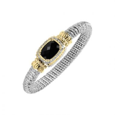 Alwand Vahan 14k Yellow Gold Black Onyx Bracelet