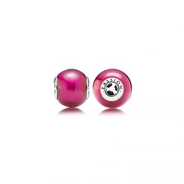 Sterling Silver Essence Collection,  Passion, Synthetic Ruby Charm