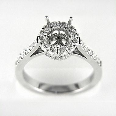 Venetti Designs 14k White Gold 0.78ct Diamond Engagement Ring