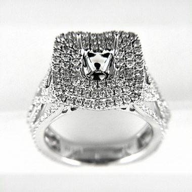 Venetti Designs 14k White Gold 1.81ct Diamond Engagement Ring