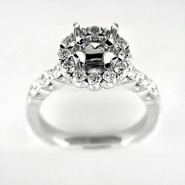 Venetti Designs 14k White Gold 1.40ct Diamond Engagement Ring
