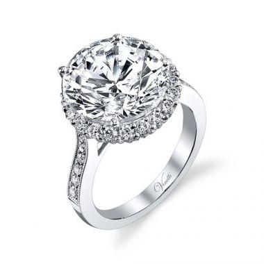 Venetti Designs 14k White Gold 0.84ct Diamond Engagement Ring