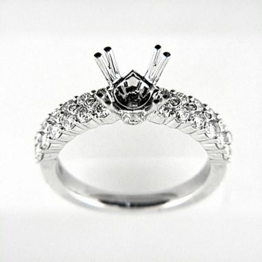 Venetti Designs 14k White Gold 0.99ct Diamond Engagement Ring